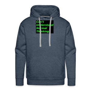 what C*** stands for - Men's Premium Hoodie
