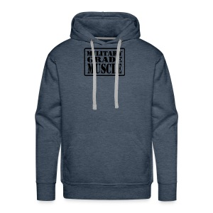 Military Grade Muscle Black - Men's Premium Hoodie