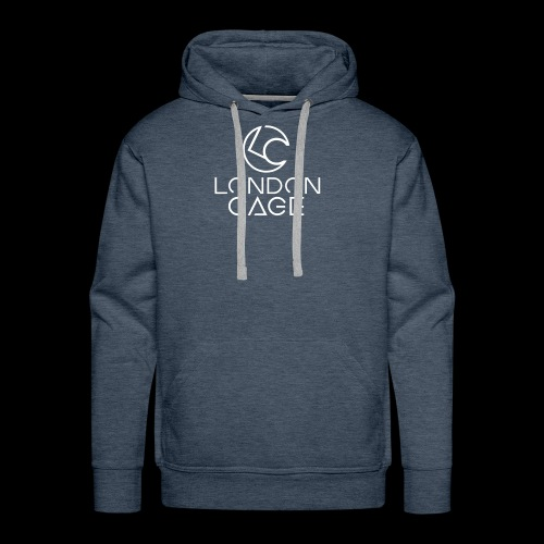 London Cage Logo - Men's Premium Hoodie
