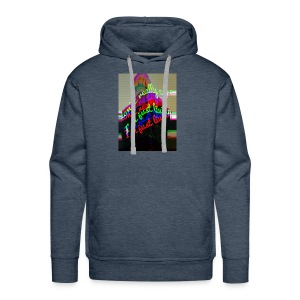 I don't really care. I'm Just Living - Men's Premium Hoodie