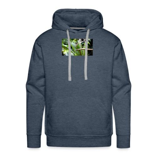 green cheek - Men's Premium Hoodie