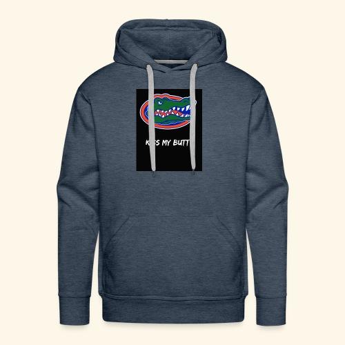 Gators kiss my butt - Men's Premium Hoodie