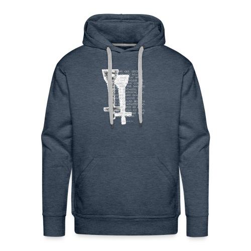 Antichrist design 1 - Men's Premium Hoodie