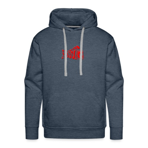 DNG LOGO (RED) - Men's Premium Hoodie