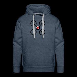 Drone Art Logo Black - Men's Premium Hoodie