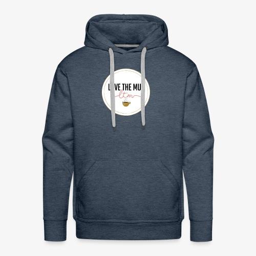 LoveTheMugLTM - Molleton à capuche Premium pour homme