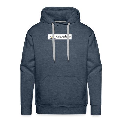 Wanyheadpress Logo - Men's Premium Hoodie