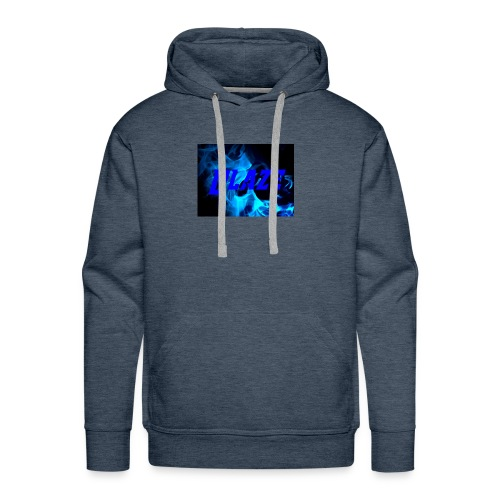 Blue Fire - Men's Premium Hoodie