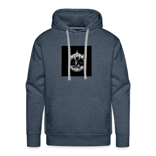 darkcharge button - Men's Premium Hoodie