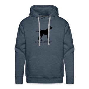 save all the dog - Men's Premium Hoodie