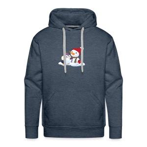 Penguin & Snowman Winter Friends - Men's Premium Hoodie