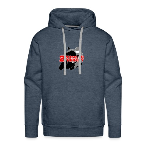 2 Wheeled Thereapy - Men's Premium Hoodie