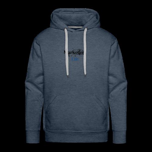 Marketing_is_Life - Men's Premium Hoodie