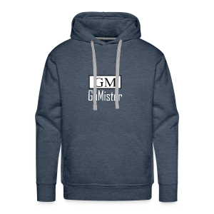 gamister_shirt_design_1_back - Men's Premium Hoodie
