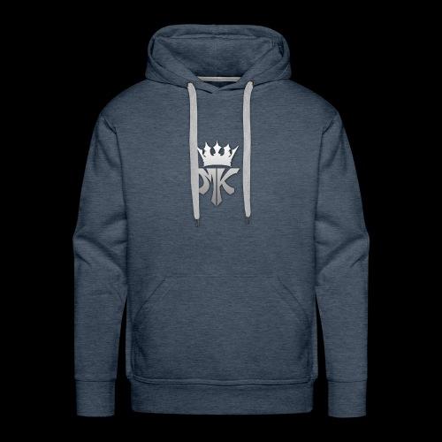 MK orignal logo gray - Men's Premium Hoodie