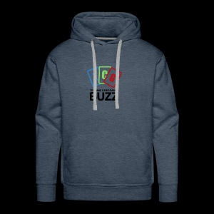 TCG Buzz Logo - Black - Men's Premium Hoodie