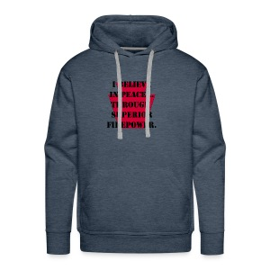 Peace 28th ID (Bloody Bucket) - Men's Premium Hoodie