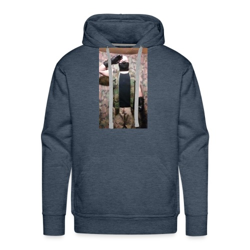 Wolf Paradox , reporting for duty - Men's Premium Hoodie