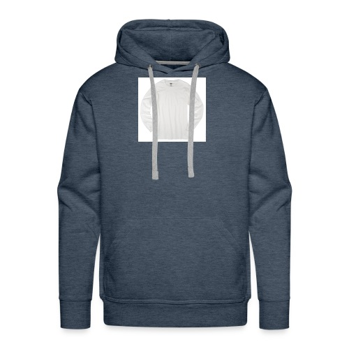 ALL WHITE - Men's Premium Hoodie
