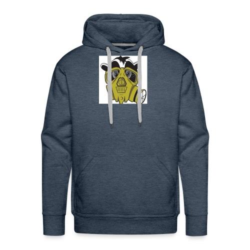 gasmask panda - Men's Premium Hoodie