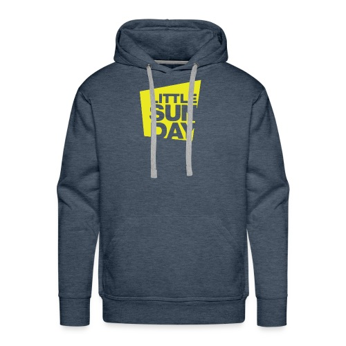 littleSUNDAY Official Logo - Men's Premium Hoodie