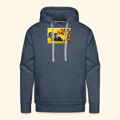 bees are cool - Men's Premium Hoodie