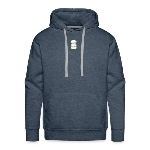 three little bunnies - Men's Premium Hoodie