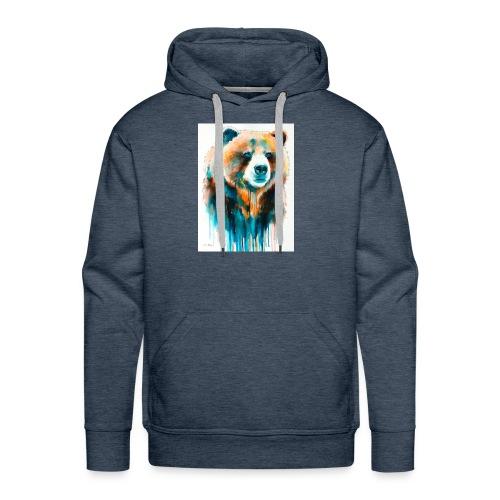 grizzly bear - Men's Premium Hoodie