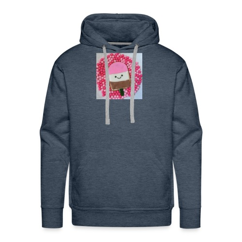 Kawaii ice cream cookies - Men's Premium Hoodie