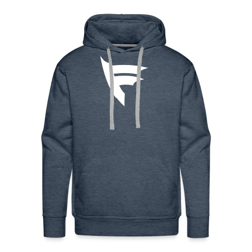 the f white - Men's Premium Hoodie