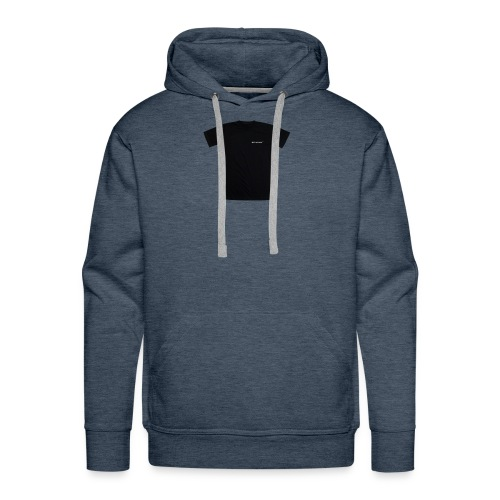 black spacex back 2 1 - Men's Premium Hoodie