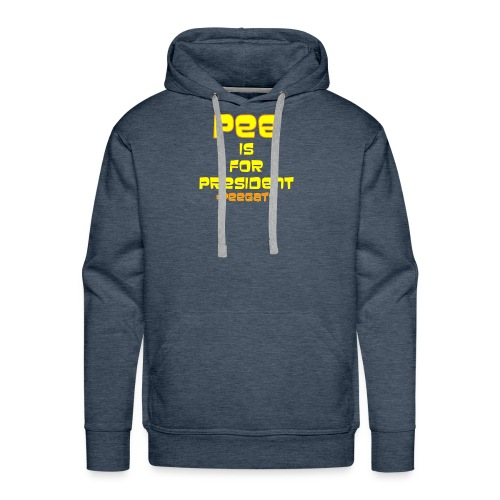 pee for president - Men's Premium Hoodie