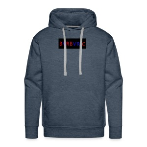 Red and blue Montage - Men's Premium Hoodie