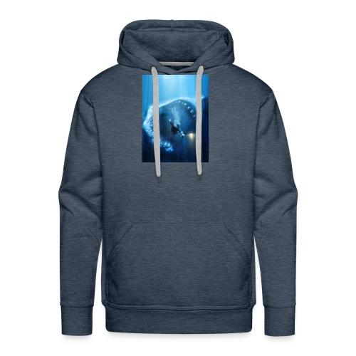 Mr.Shark is hungry - Men's Premium Hoodie