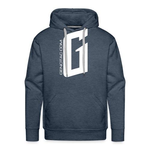 White G - Men's Premium Hoodie