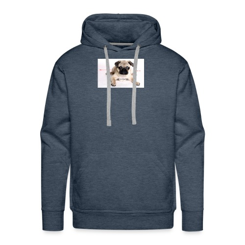 be a super pug savage merch - Men's Premium Hoodie