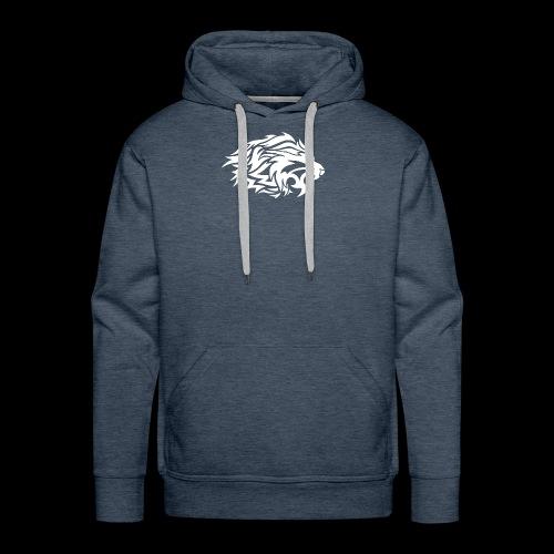 lion white - Men's Premium Hoodie