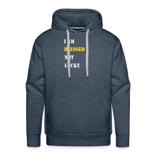 I am blessed. - Men's Premium Hoodie