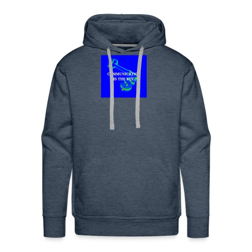 Communication - Men's Premium Hoodie