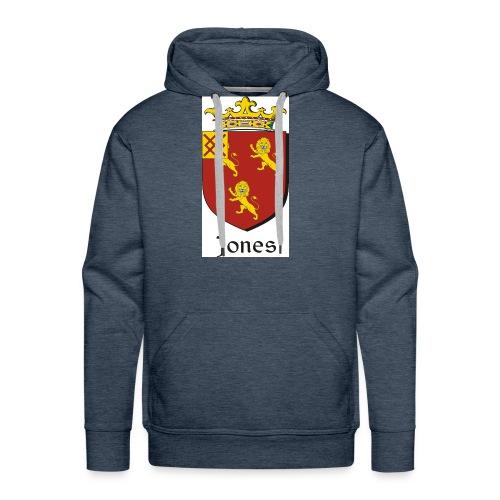 Jones Irish Crest - Men's Premium Hoodie