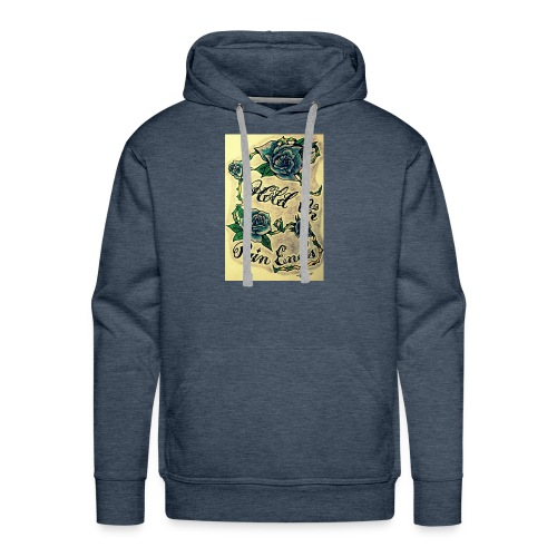 Hold On Pain Ends - Men's Premium Hoodie