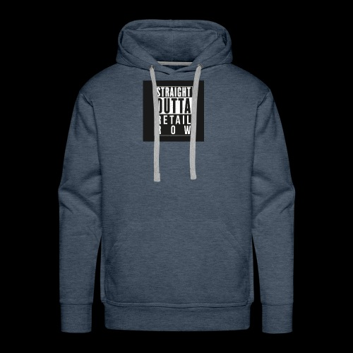 Straight outta retail row fortnite Phone case - Men's Premium Hoodie