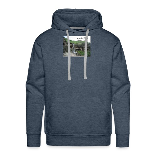 most famous landmarks - Men's Premium Hoodie
