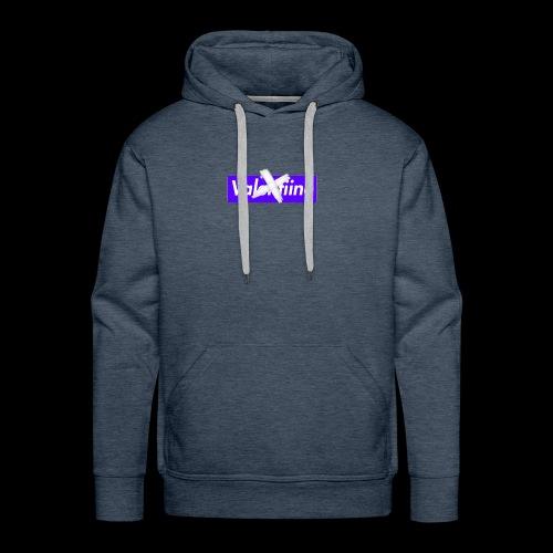 no valentiine official logo - Men's Premium Hoodie