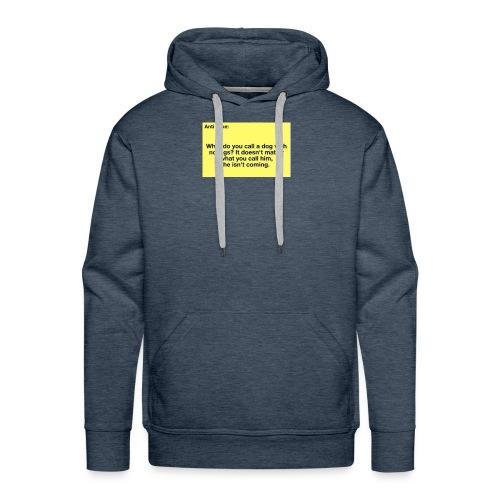 Funny joke - Men's Premium Hoodie