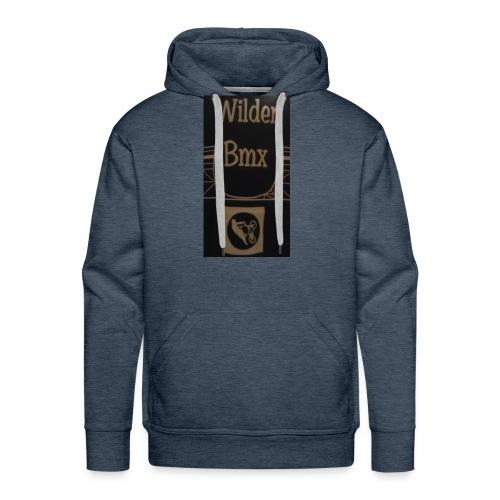 Wilder Bmx logo apparel - Men's Premium Hoodie