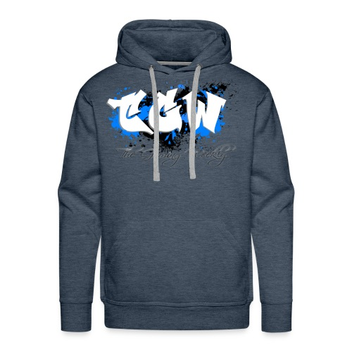TGW Black and blue edition - Men's Premium Hoodie