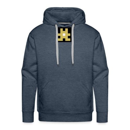 YELLOW hashtag - Men's Premium Hoodie