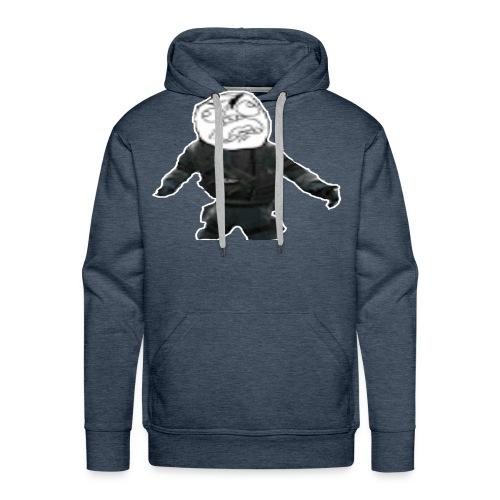 Stay Angry Logo - Men's Premium Hoodie