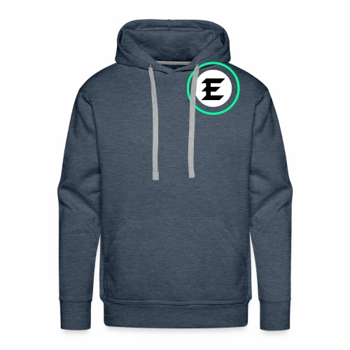 exrt green logo - Men's Premium Hoodie
